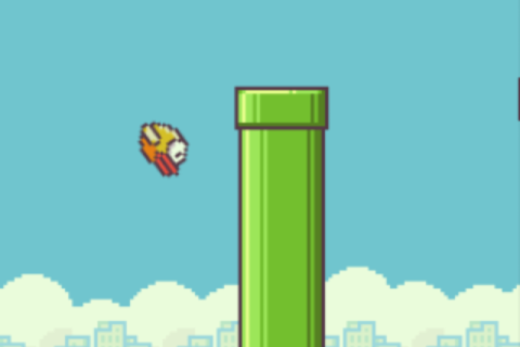 Flying-bird game, Flappy Bird, was developed was developed in 2013 and is currently topping the App Store's freebie's list.